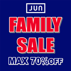 2017 Winter JUN GROUP FAMILY SALE 神戸サンボーホール